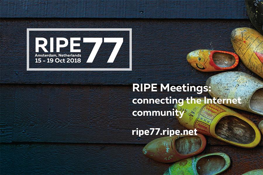 RIPE 77 Flyer